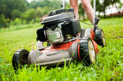 Lawn-Mover Royalty Free Stock Image