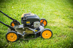 Lawn mover Royalty Free Stock Images