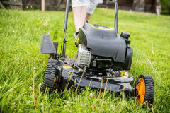 Lawn mover Royalty Free Stock Image