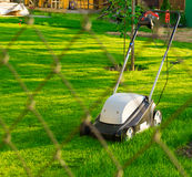 Lawn-mower Royalty Free Stock Images