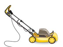 Lawn Mower. Illustration of a lawn mower on a white background Royalty Free Stock Photos