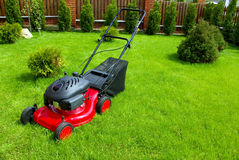 Free Lawn Mower Stock Image - 5173651