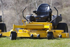 Lawn Mower. (Zero Turn Tractor Royalty Free Stock Photos