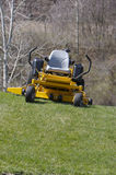Lawn Mower. Zero Turn Lawn Mower Stock Photography