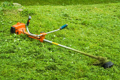 Lawn mower. Lawn-mower Royalty Free Stock Photo
