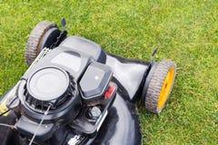 Lawn mower closeup Royalty Free Stock Photo