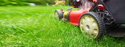 Lawn mower Royalty Free Stock Photo
