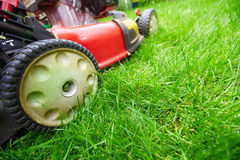 Lawn mower. Royalty Free Stock Photos