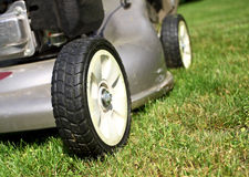 Lawn Mower detail Stock Image