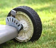Lawn Mower detail Stock Photo