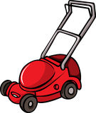 Lawn Mower illustration. Lawn Mower isolated on white background Royalty Free Stock Photo