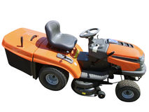Lawn-mower isolated Stock Image