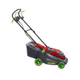 Lawn mower isolated Stock Photos