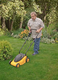 Lawn mower man Royalty Free Stock Photo