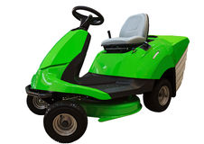 Lawn mower tractor Royalty Free Stock Photos