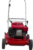 Lawn mowers red Stock Images
