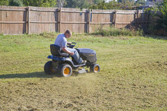 Lawn mowing Stock Images