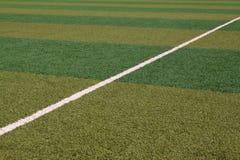 Lawn på lekplatsen Fotografering för Bildbyråer