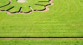 Lawn shape Stock Photos