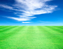 Lawn sky Royalty Free Stock Photo