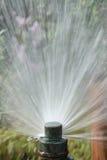 Lawn Sprinkler Stock Photography