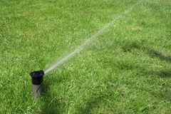 Lawn Sprinkler Stock Images