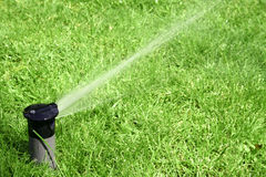 Lawn Sprinkler Stock Photography
