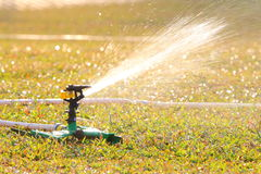 Lawn Sprinkler Royalty Free Stock Images