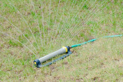 Lawn Sprinkler - Closeup Stock Images