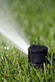 Lawn Sprinkler Head Royalty Free Stock Photos