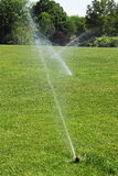 Lawn Sprinklers Stock Images
