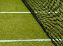 Lawn tennis court Royalty Free Stock Photo