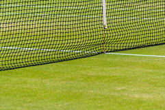 Lawn tennis court Royalty Free Stock Images