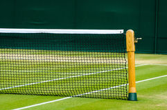 Lawn tennis court Stock Photo