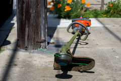 Lawn Trimmer Stock Photography