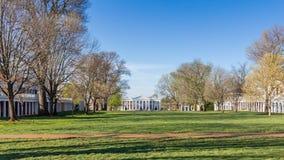 The Lawn at UVA Royalty Free Stock Photos