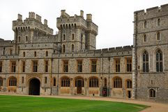 Lawn in the Windsor castle Royalty Free Stock Photography