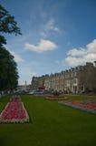 Lawned gardens in harrogate Stock Image