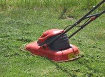 lawngräsklippningsmaskin Arkivbilder