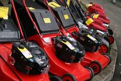 lawngräsklippningsmaskiner Royaltyfria Foton