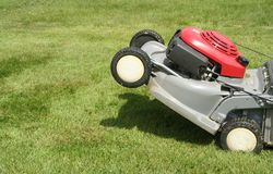 Lawnmower stock images