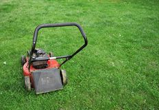 Lawnmower Royalty Free Stock Photos