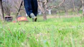 lawnmower zbiory wideo
