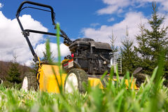 Lawnmower Foto de Stock