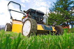 Lawnmower Fotos de Stock