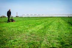 lawnmower Fotos de Stock Royalty Free