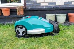 Lawnmower do robô Imagem de Stock Royalty Free