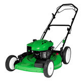 Lawnmower Isolated. An isolated lawnmower on a white background Royalty Free Stock Photos