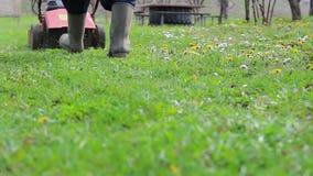 Lawnmower stock video