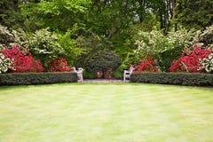 lawnpark Arkivfoto